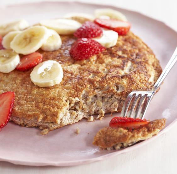 Ricetta Pancake Avena.Pancakes Con Avena Istantanea E Albumi Lefitchef