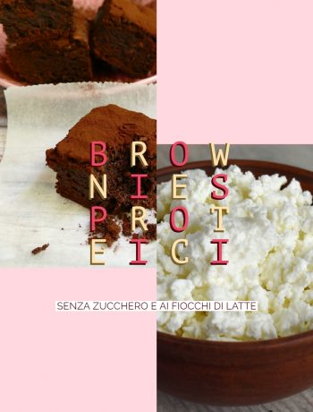 brownies proteici