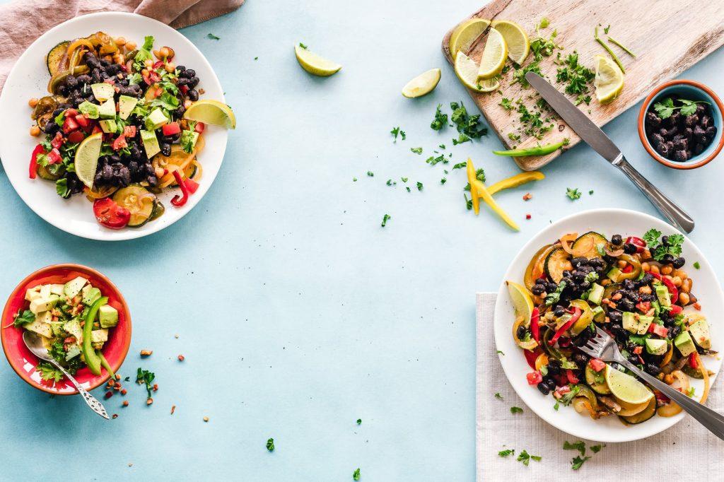 cucinare senza olio, piatti a base di verdure